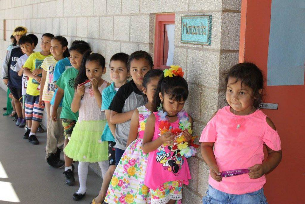 TSCC Kids line up