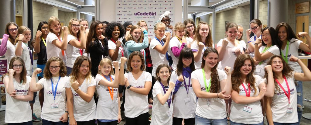 Girls feel confidant in their technological prowess thanks to uCodeGirl