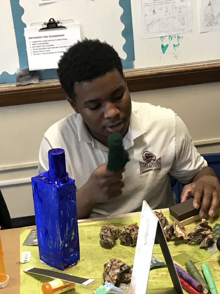 Green Works student does environmental project