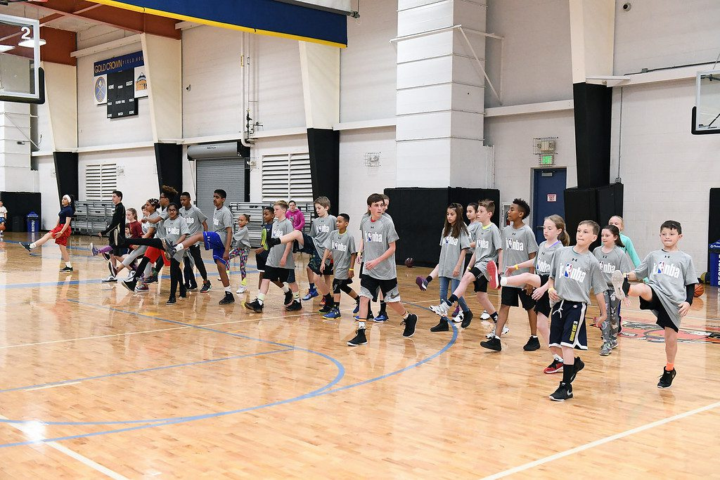 The Jr. NBA Parent Forum and Clinic on March 14, 2018 at Gold Crown in Lakewood, Colorado