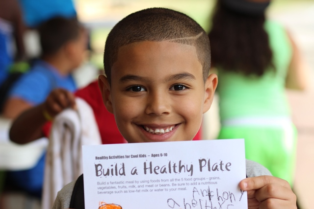 Camp Courant emphasizes healthy eating