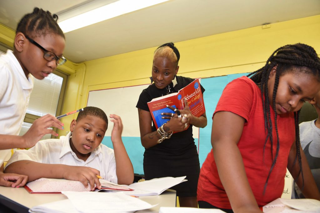 Reading Team after school program for fifth graders