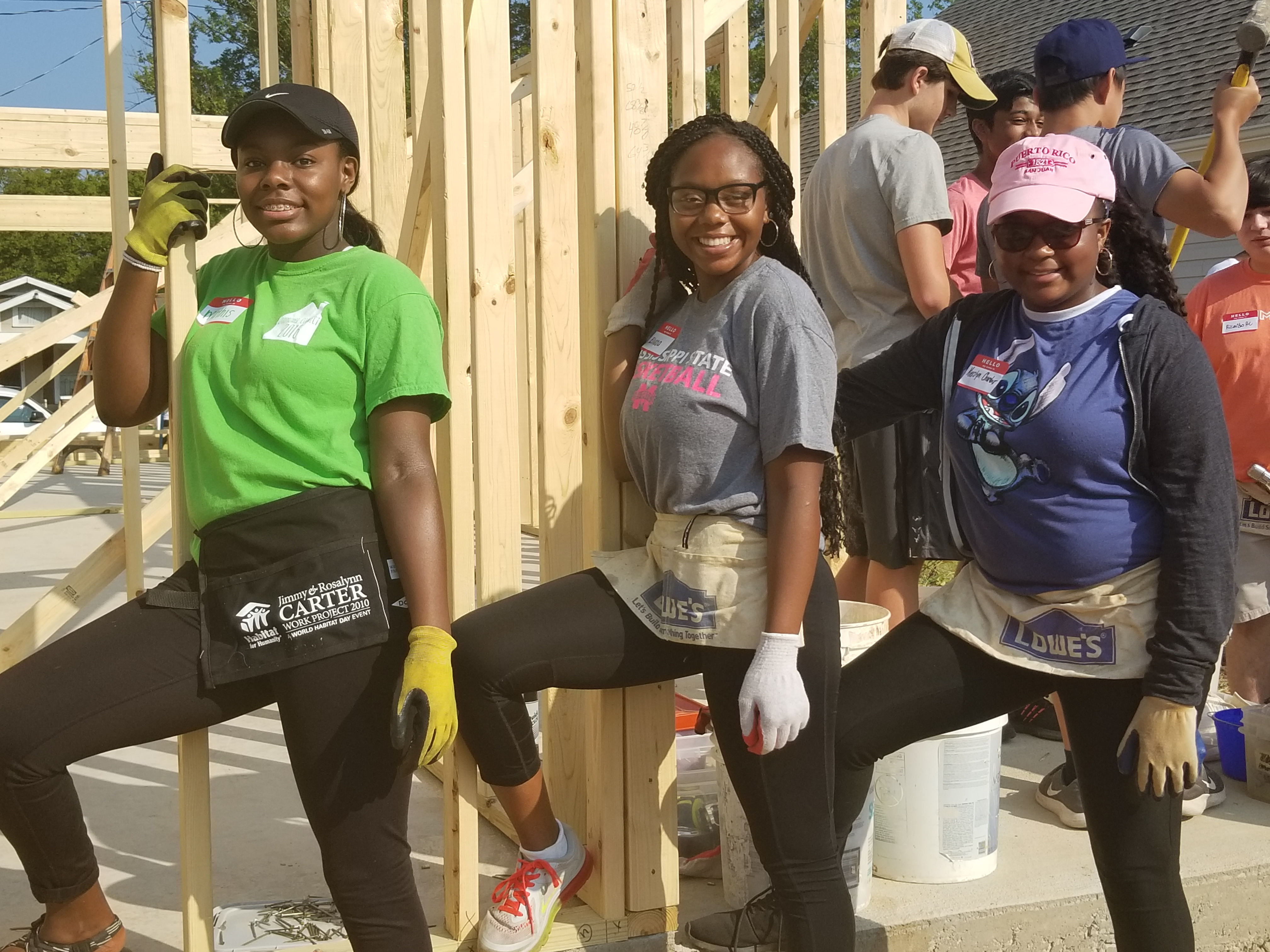 (YAC Service Day) – Habitat for Humanity in Eastlake (another blighted area on its way back)
