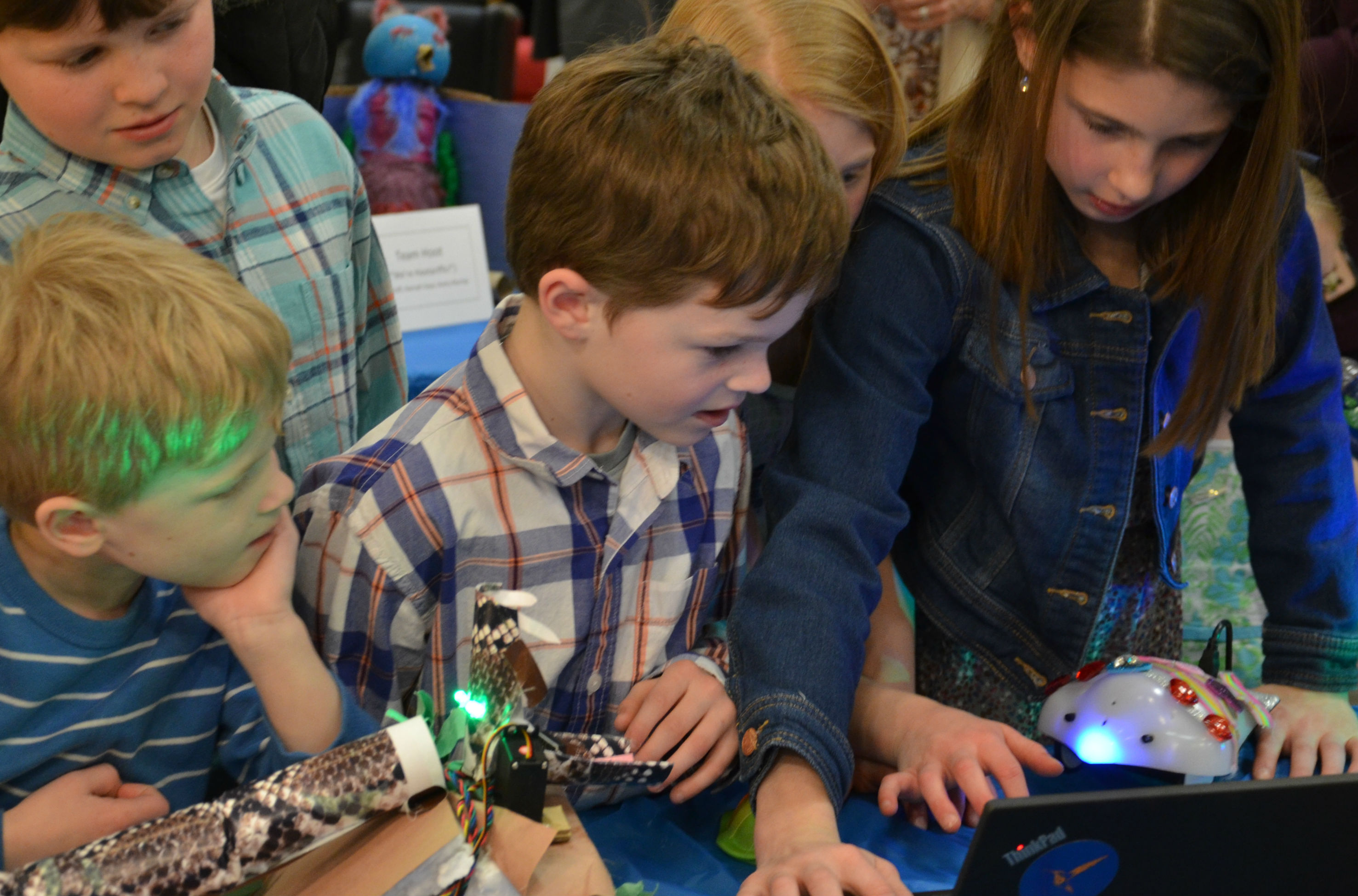 Downingtown Educational Foundation sponsored class in robotics for young people