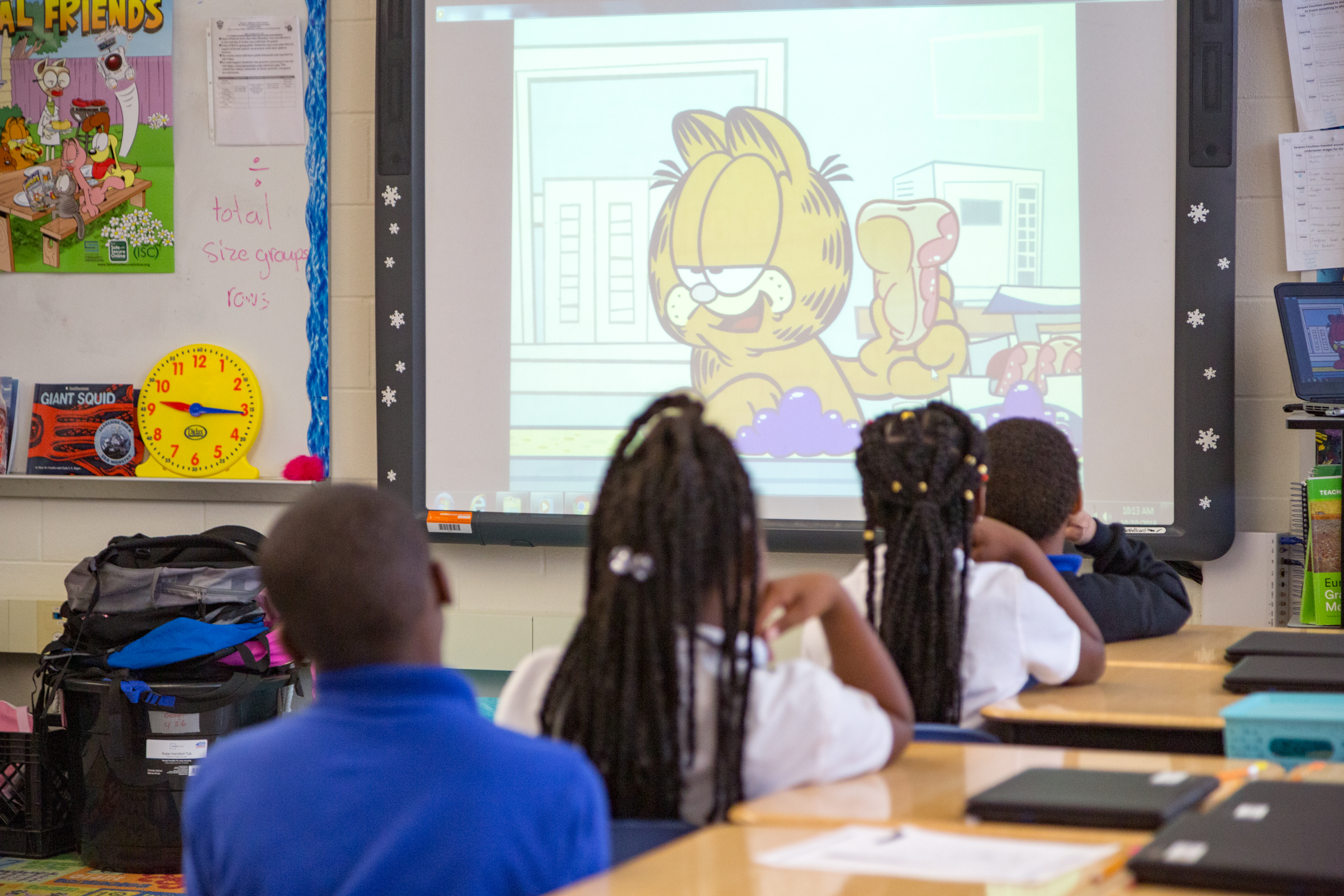 Center for Cyber Safety and Education uses Garfield to teach lesson about internet safety to children