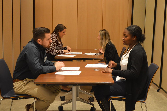 NJ LEEP students learn about various careers by visiting places of business and meeting face to face with professionals