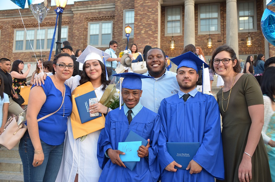 The Garage Community & Youth Center graduates