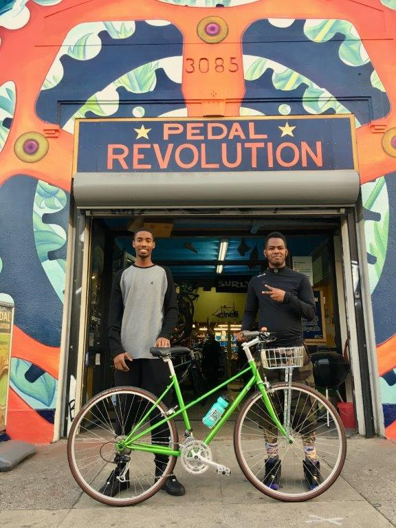 New Door Ventures' Pedal Revolution interns