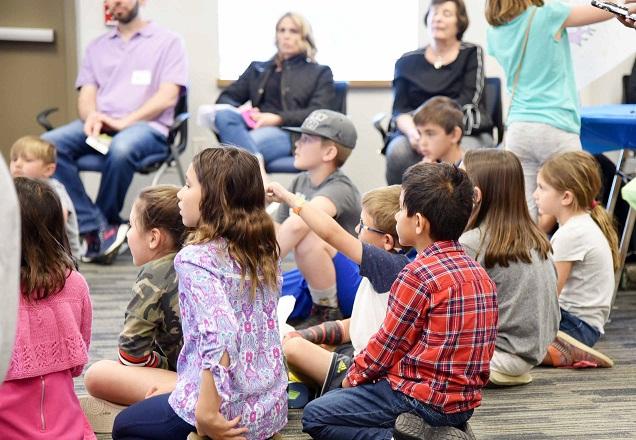 Raising Kindness participants listen intently