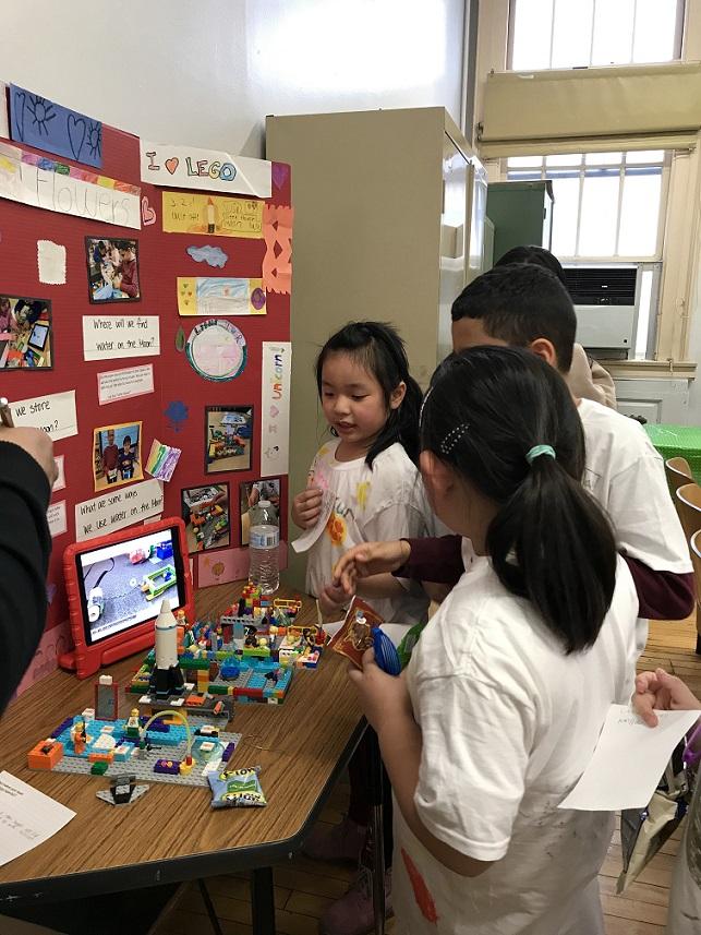 Immigrant Social Services, Inc. (ISS) Lego robotics
