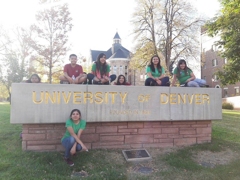 Mile High 360 students visit the University of Denver