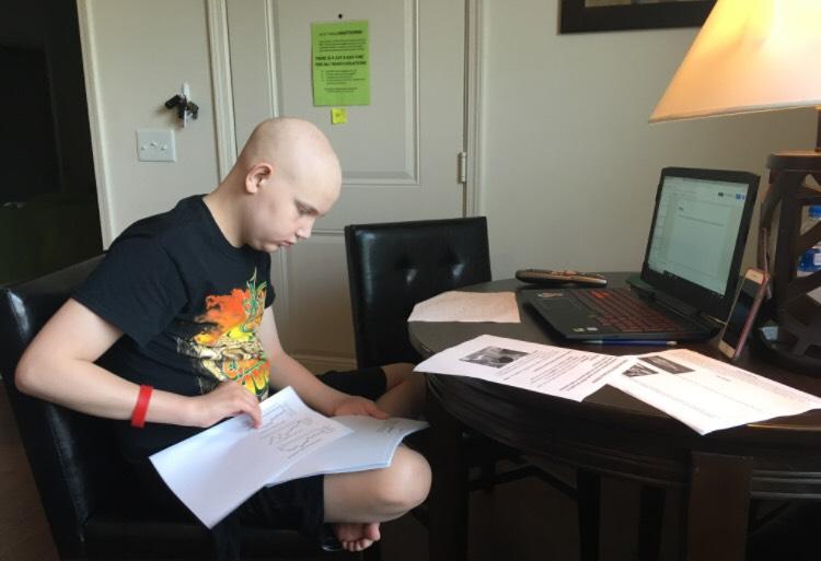 Hopecam helps patients keep up with classwork