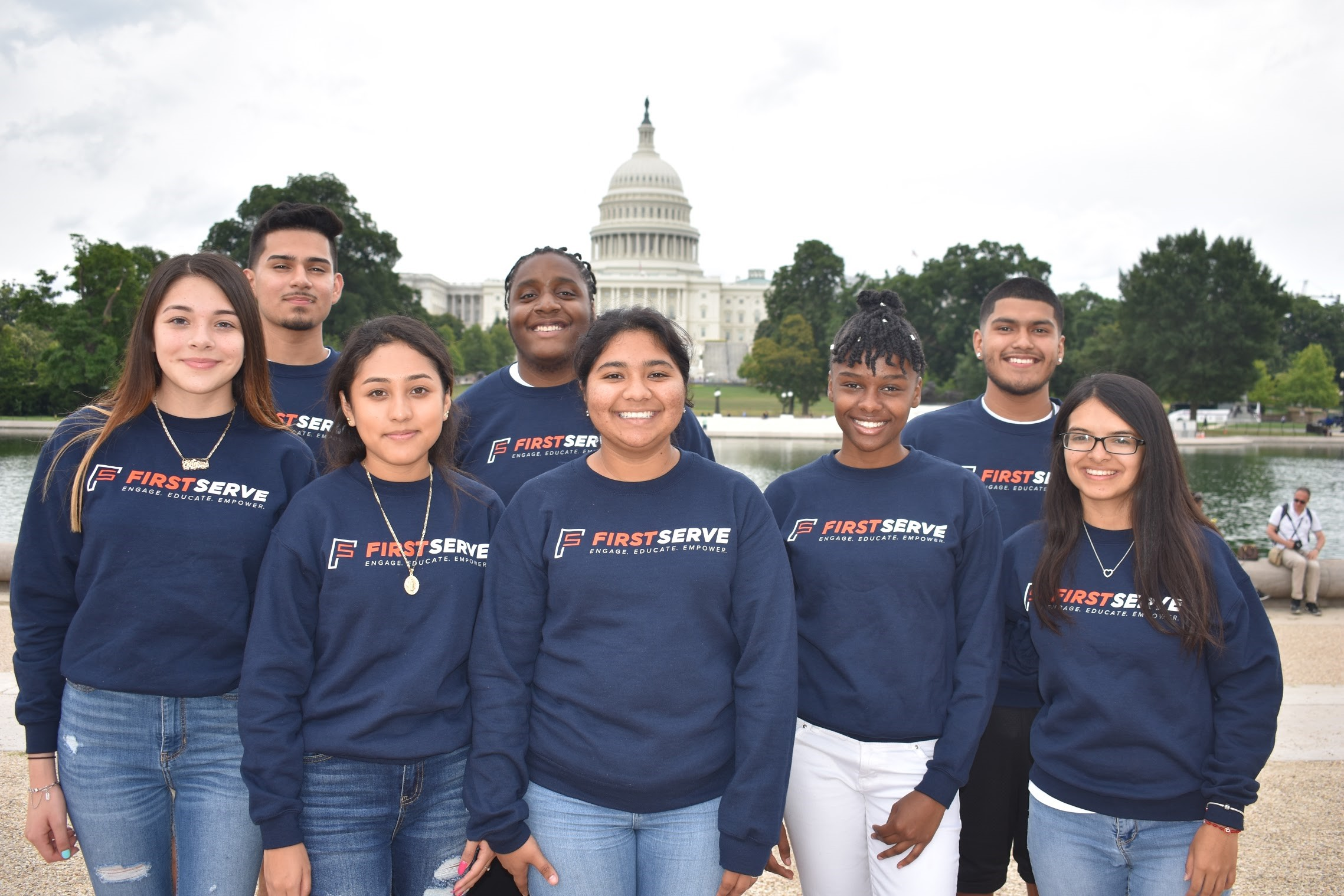 First Serve Pal Mentors take a trip to Washington