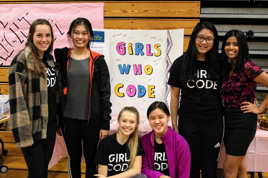 Girls Who Code group photo