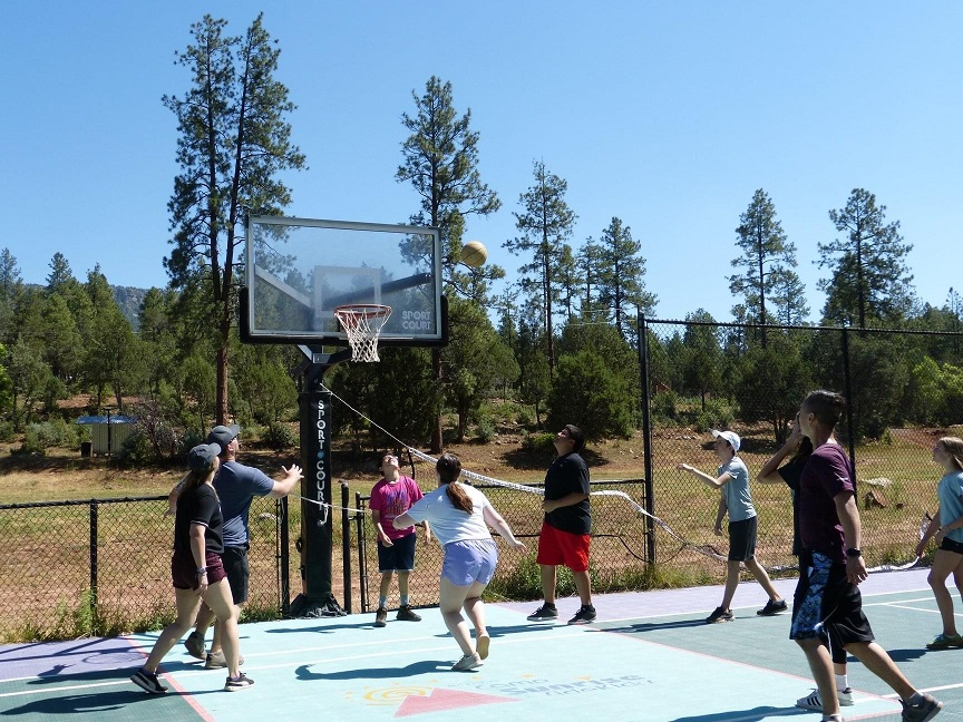 Southwest Kids Cancer Foundation basketball game