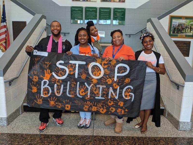 Communities in Schools Hampton Roads anti-bullying campaign