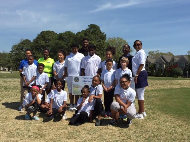 Communities in Schools of Hampton Roads group photo