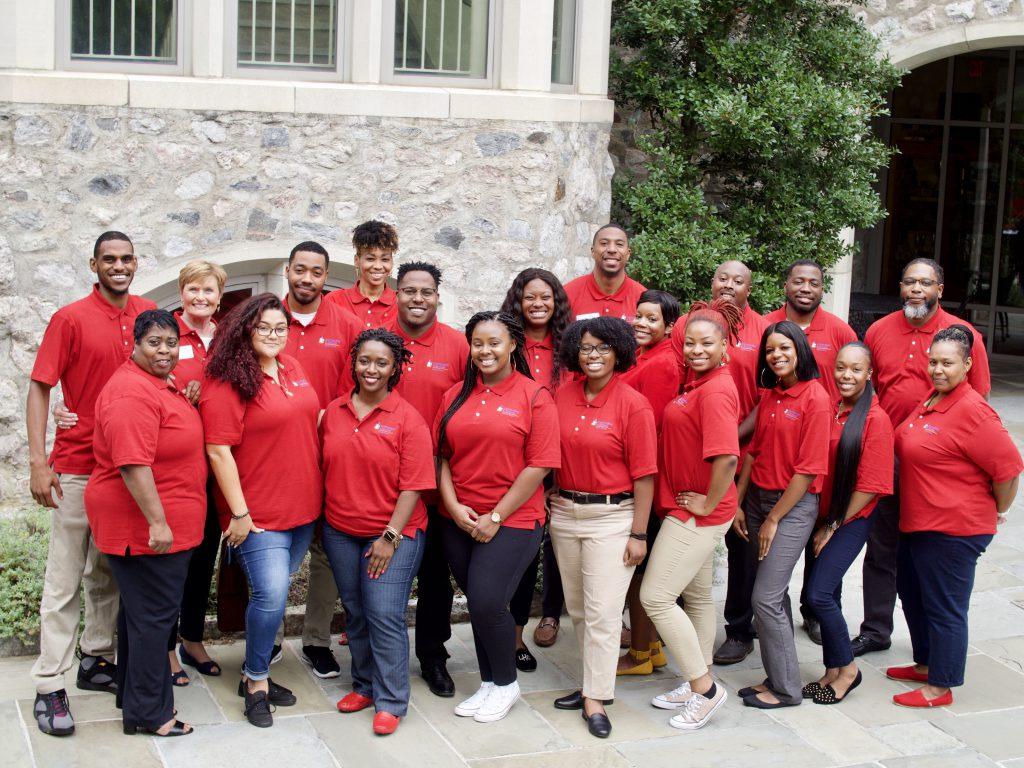 Communities in Schools of Hampton Roads staff in 2019