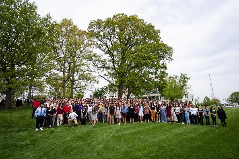 Valley Scholars Academic Showcase group photo