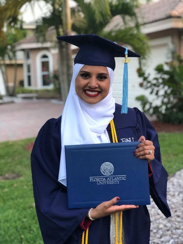 Take Stock in Broward graduate Sharifa Shageer