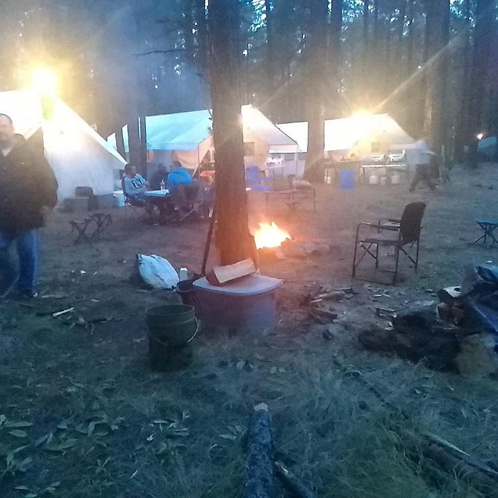 Arizona Outdoor Adventures campfire