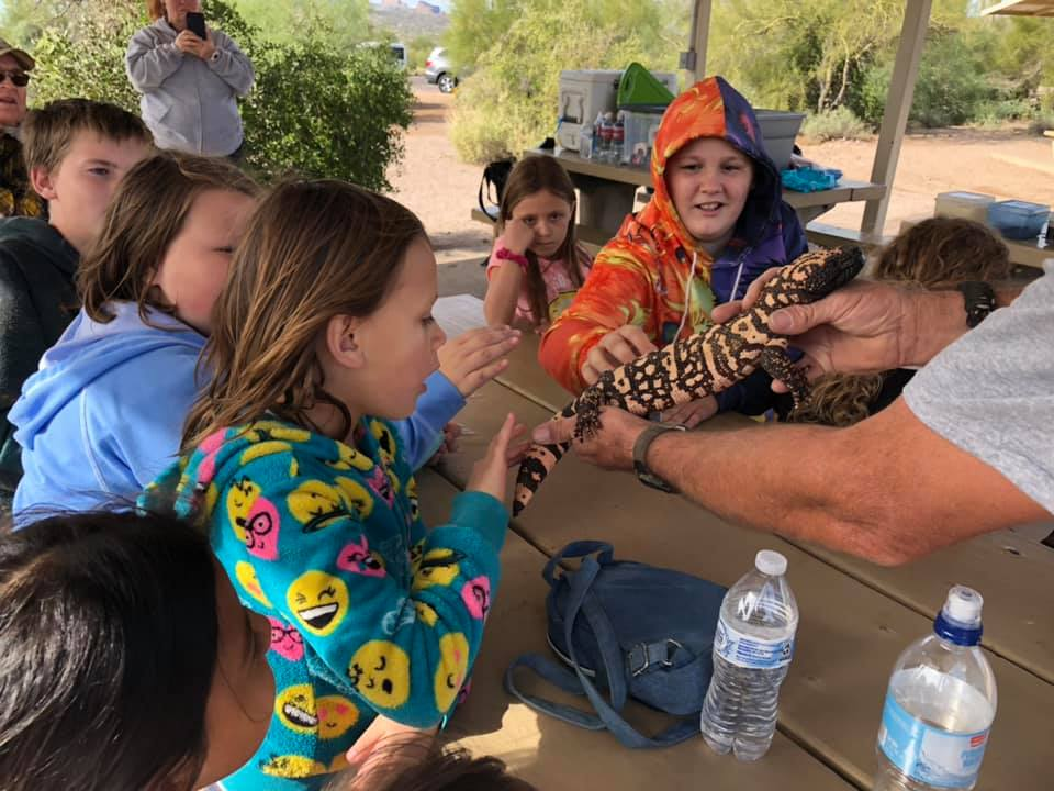 wildlife education at Arizona Outdoor Adventures